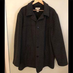 J Crew wool blend coat